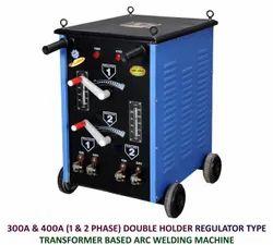 Double Holder Regulator Type Arc Welding Machine