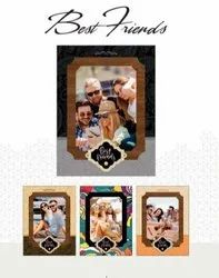 Multicolor Carving Wooden Photo Frame, For Gift, Size: 8 X 10