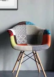 For Cafe Patchwork Sofa Chairs