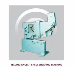 8/CH Hand Operated Lever Sheet Shearing Machine (Tee And Angle Cutting Machine)