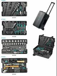 Water Resistant 4-Pallet Tool Case Set, 117pcs