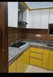 Marble Modern Designer Modular Kitchen Service