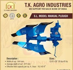 S.L Model Manual Plough, For Agriculture, 2