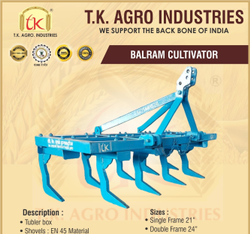 TK Agro 9 Tynes Balram Hal Cultivator
