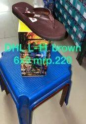 DHLL11 Mens EVA Brown Slippers
