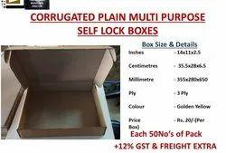 Self Lock Boxes No Pins, No Pasting