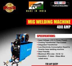 VIJAY MIG Welding Machine, 400A