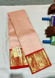 Pure Kanchipattu Saree, 5.5 m (Separate Blouse Piece)