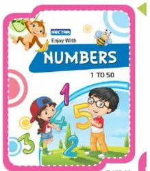 Numbers 1 To 50 Children Counting Math Book, Ctc