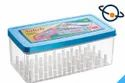 Nakoda Rectangle Plastic Thread And Needle Box Saheli, For Apparel
