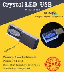 Crystal LED USB Pen Drive