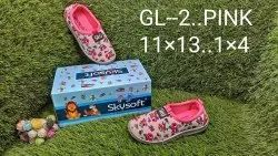Skysoft Printed Girls Shoes, Size: 11*13,1*4