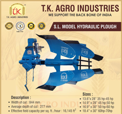 S.L Model Hydraulic Plough