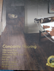 SPC Water Proof Termite Proof Flooring 6 mm Thickness