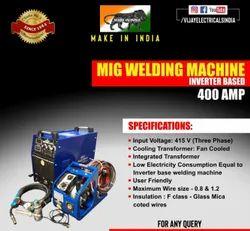 VIJAY ARC Inverter Based MIG Welding Machine, 400A