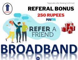 Referral Bonus Internet Service