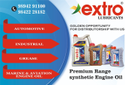 Extro Lubricants Required C & F Agency & Distributor