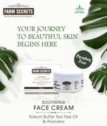 White Farm Secrets Soothing Face Cream, Container, Packaging Size: 100 Ml