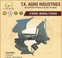 S Model 3 Bottom Fast Reverse Plough For Agriculture