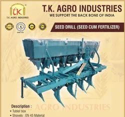 Mild Steel Wheat & Soyabean Seed cum Fertilizer Drill, For Agriculture
