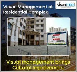 Visual Management in Residential Complex, in Maharashtra, Location: Mumbai, Borivali West