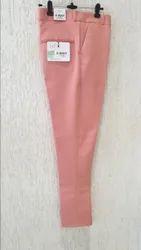 Poly Viscose Flat Trousers Armani Trouser