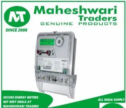 Three Phase Secure Electric Meter