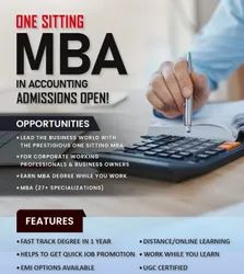 MBA in Accounting Degree in One Sitting