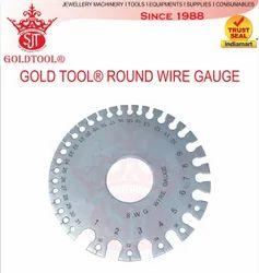 Gold Tool Round Wire Gauge