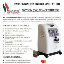 Swastik Synergy Lifestyle Portable Oxygen Concentrator