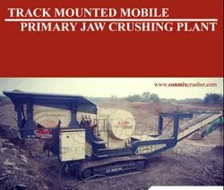 Track Mounted Mobile Jaw Crushing Plants