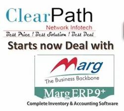 Offline Multi-user Marg ERP Software, For Windows, Free Demo/Trial Available