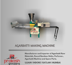 Incense Stick Making Machine, Production Capacity: 10-15 kg/hr, 200-250 strokes/min