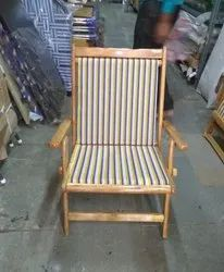 Om Woods Coloring Wooden Folding Chair