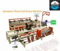 Fully Automatic Single Wire Chain Link Fencing Machine