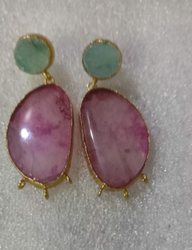 Pastel Pink Earring