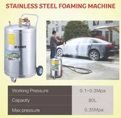 Stainless Steel Foaming Car Washer