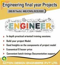 1 Month Online Engineering Final Year Projects in Pan India