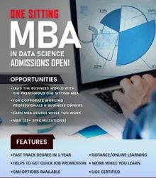 MBA in Data Science in One Sitting, India, UGC