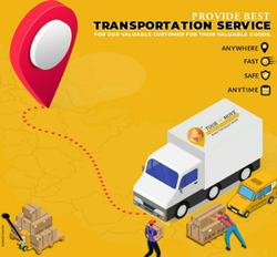Chennai To Delhi Transportation Service