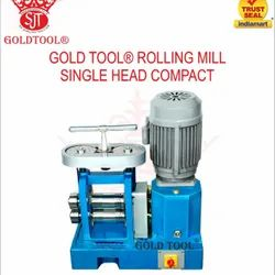 Gold Tool Rolling Mills Single Head Compact