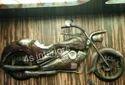 Ms Gunmetal Golden Bike, Retail Shop Interior