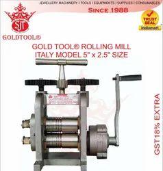 Gold Tool Jewellery Rolling Mill Machine Cavallin Model