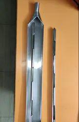 Dry Powder Thief Sampling Rod SS316 2 Ft Long 3 Slot