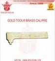 Gold Tool Brass Caliper
