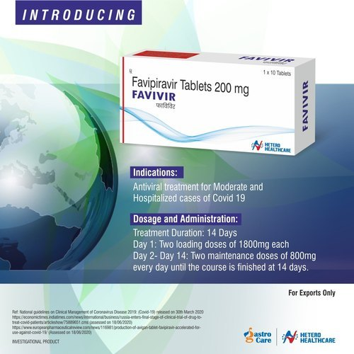 Favivir Favipiravir Tablets