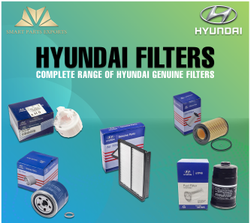 Hyundai Filters Glass Fiber Hyunda Oil Filter, For Automobile