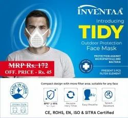 Inventaa Reusable Face Mask, Certification: Sitra, Number Of Layers: 3