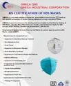 Bis Certification Consultancy for N-95 Mask as per IS 9473