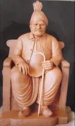 Pandit Dindayal Uppaday Marble Statue